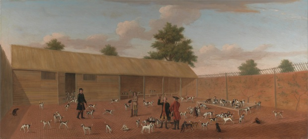Learning About the Hounds by Thomas Butler of Pall Mall, 1750.