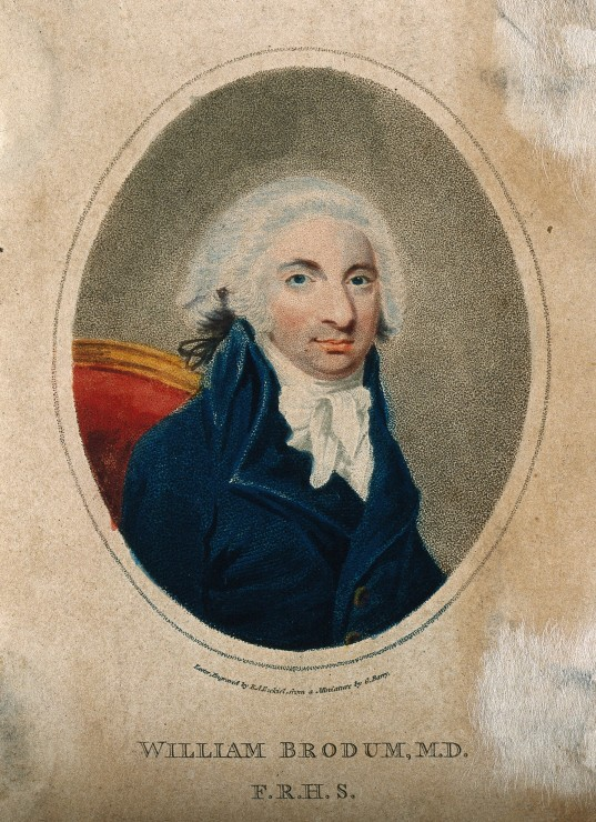 William Brodum by E. A. Ezekiel, 1797.(Image Courtesy of The Wellcome Library, CC BY 4.0.)