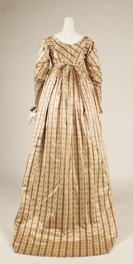 1800 British Silk Dress.(Image via Met Museum)