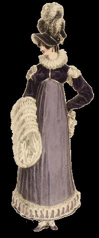 1816-walking-dress-purple-muff-print-ps