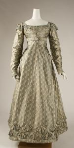 1820 British Silk Dress.(Image via Met Museum)