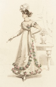 1821 Ball Dress.(Image via LACMA.)