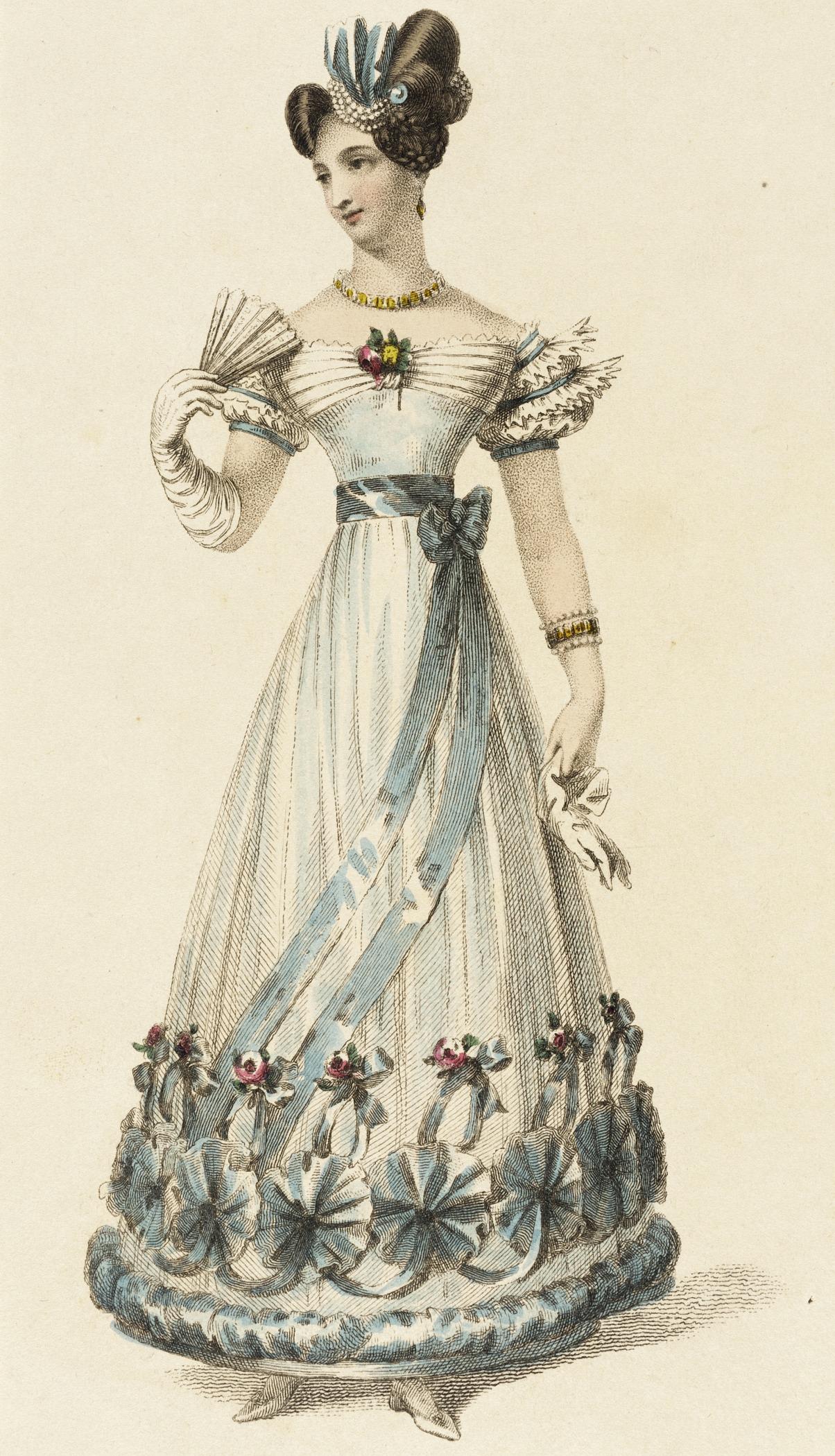 1826 Ball Dress: 1820s Wedding Dress Box At Websimilar.org