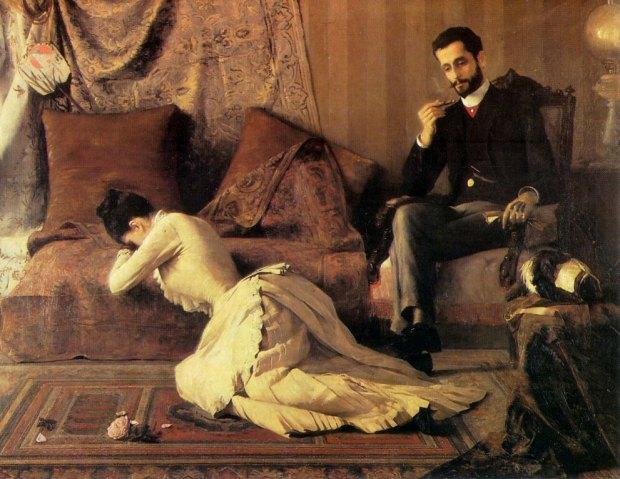 Arrufos by Belmiro de Almeida, 1887.