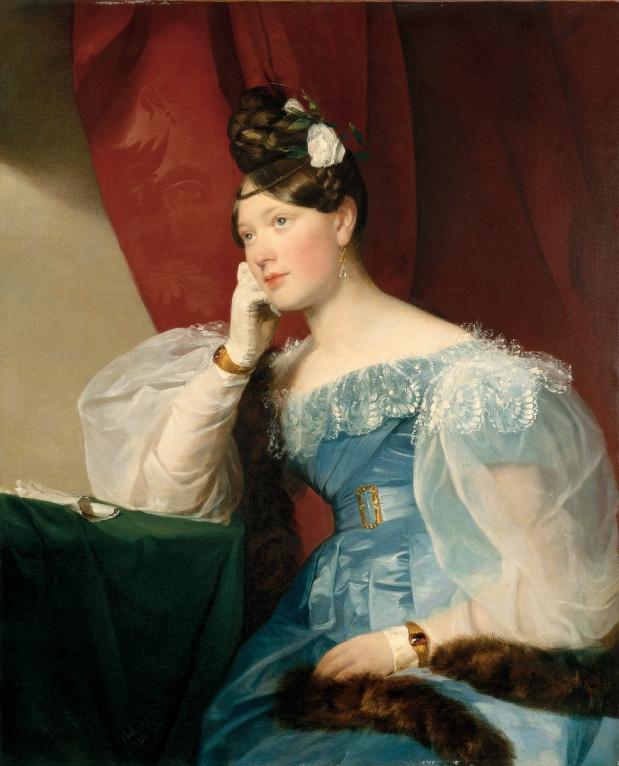 Countess Julie von Woyna by Friedrich von Amerling, 1832.