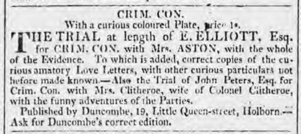 Morning Chronicle , London, England, December. 19, 1818.