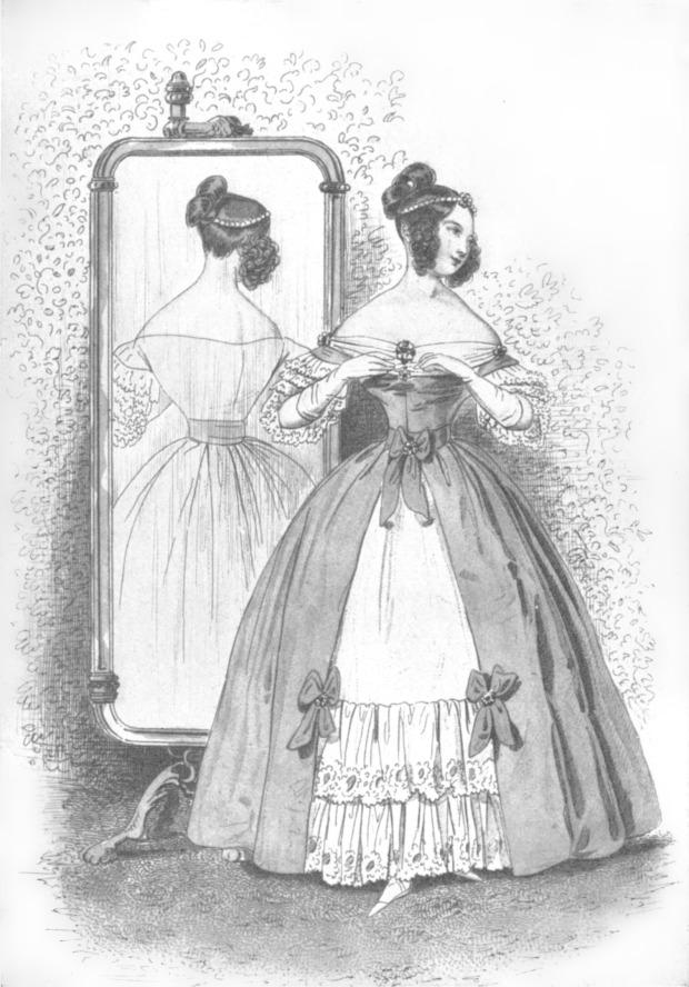 Die Mode, Menschen und Mode im neunzehnten Jahrhundert, 1837.