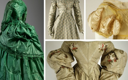 Individual Images of Gowns via Met Museum