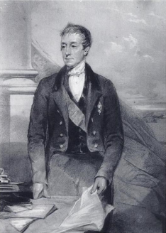 George Eden, 1st Earl of Auckland, 1849.