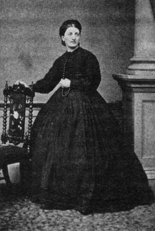 Isabella Beeton, 1860.
