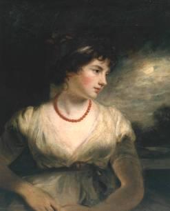 Jane Harley, Countess of Oxford by John Hoppner, 1797.