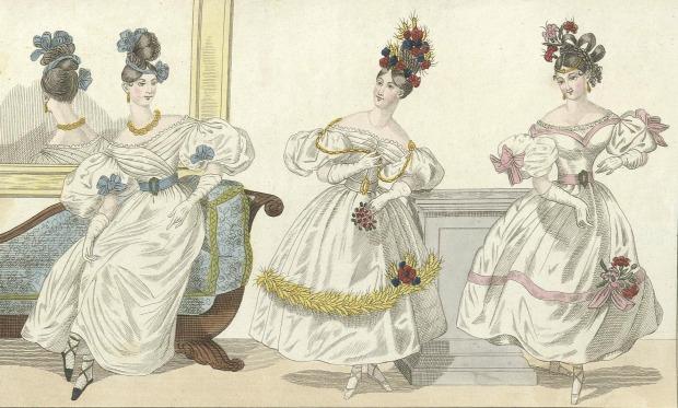 Magasin för konst, nyheter och moder 1831, Sweden.
