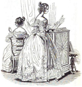 New Monthly Belle Assemblée, 1836.