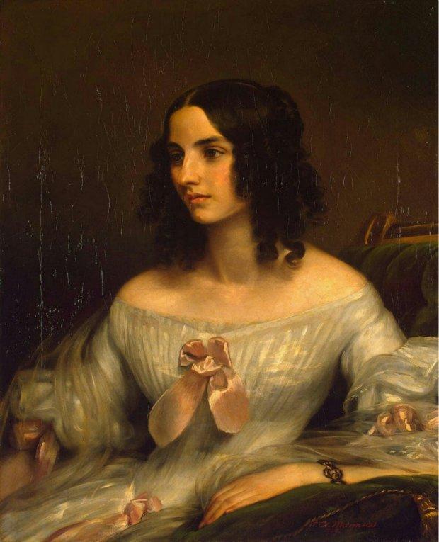 Portrait by Eduard Magnus, 1838.