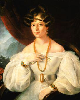 Portrait of a Woman by Miklós Barabás, 1831.