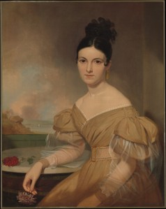 Portrait of Mrs. Winfield Scott by Asher Brown Durand, 1831.