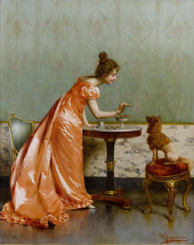 The Unconditional Lover by Vittorio Reggianini, late 19th century.