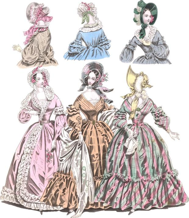 The World of Fashion, 1838.