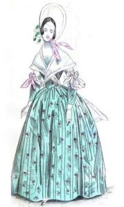 Ladies Cabinet of Fashion, 1837.