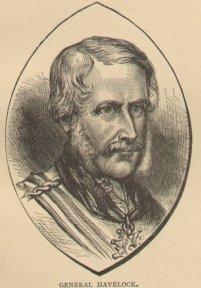 Engraving of General Henry Havelock, 1886.