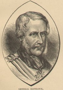 Engraving of General Henry Havelock, 1886.