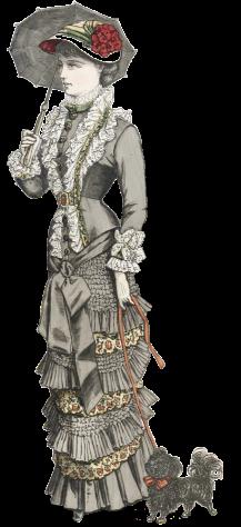 Freja, Lady with Dog, 1881 PS3