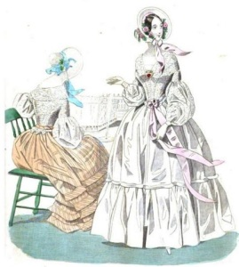 Godey's Lady's Book, 1840.