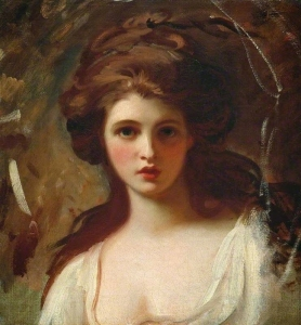 Lady Hamilton as Circe by George Romney, 1784.