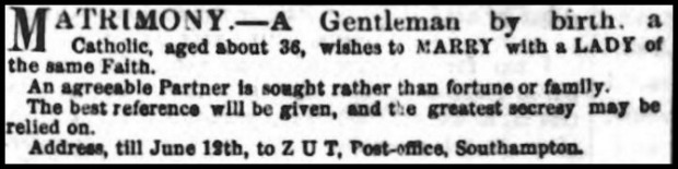 Catholic Telegraph, June 10, 1854.
