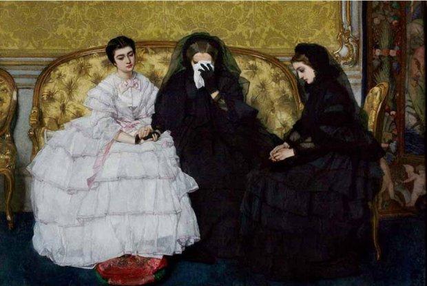 in memoriam by alfred stevens 1823 1906