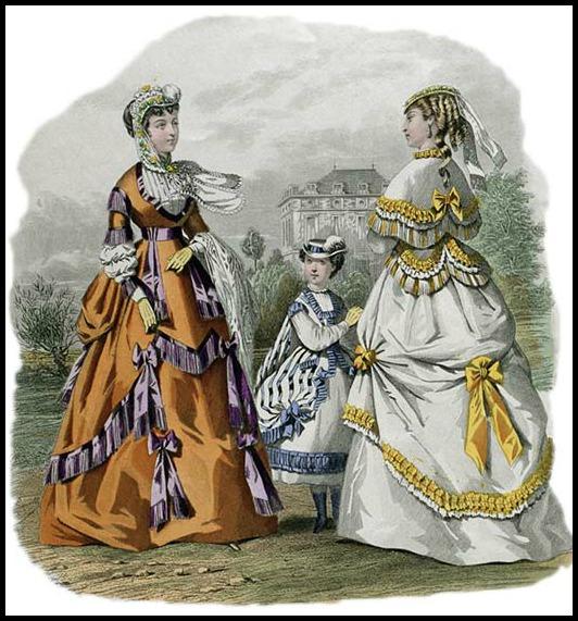 Le Journal des Dames et des Demoiselles, 1868.