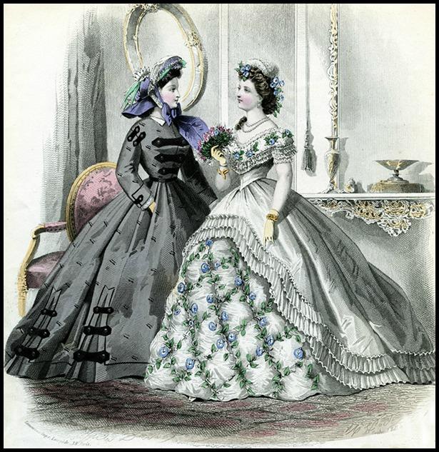 Le Journal des Dames et des Demoiselles, 1864.