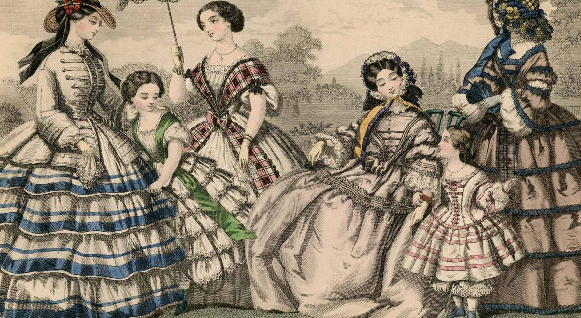 les-modes-parisiennes-women-1855-1856-plate-092-via-met-museum