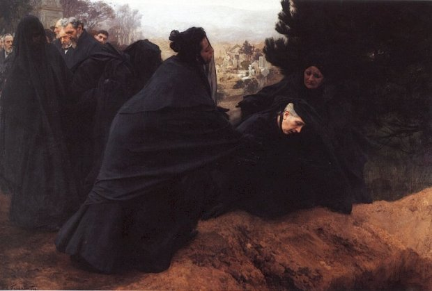 Sorrow by Émile Friant, 1898.