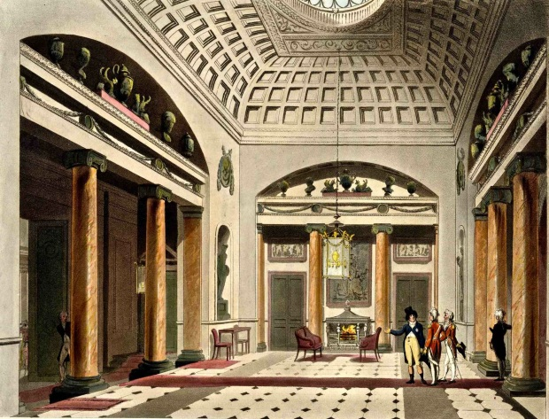 Carlton House, Main Hall.