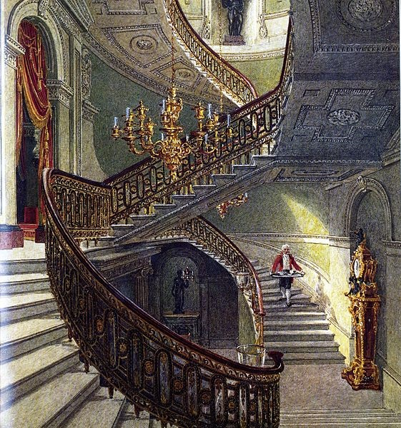 Stairs at Carlton House.