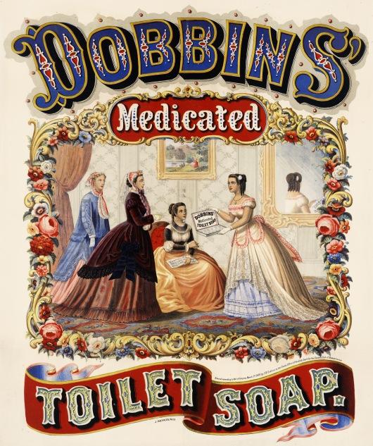 Dobbin's Medicated Toilet Soap Advertisement, 1869.