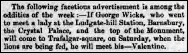 Cork Examiner, April 13 1868.
