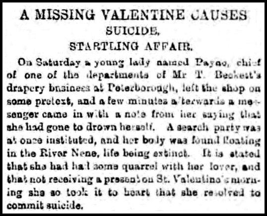 Daily Gazette for Middlesborough, February 16, 1891.