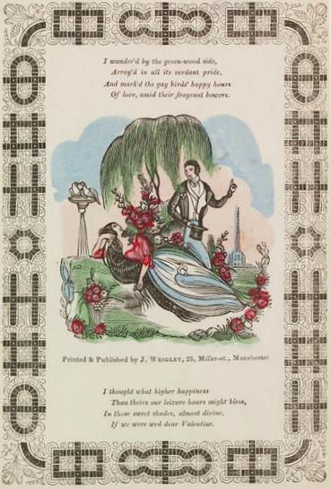 victorian valentine 1830s via victoria and albert museum
