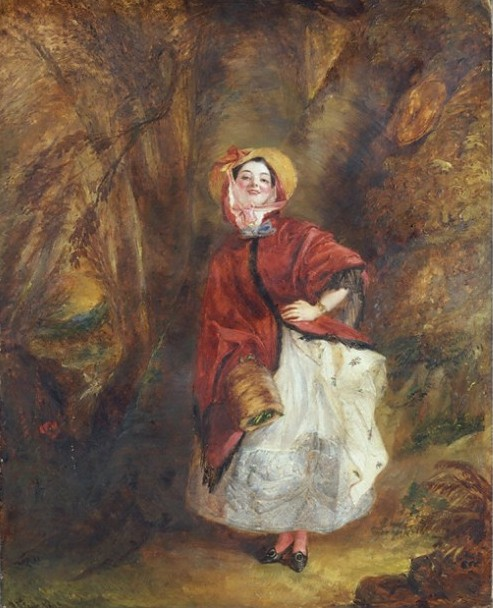 Dolly Varden by William Powell Frith, 1842.