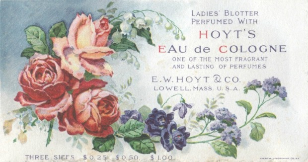 Eau de Cologne advertisement, 19th century.