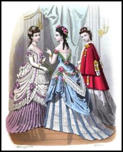 London and Paris Ladies Magazine, 1873.
