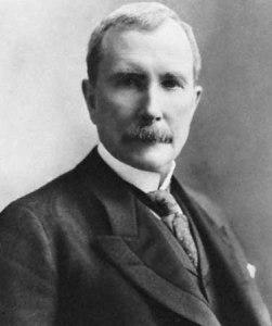 John D. Rockefeller Senior, 1875.