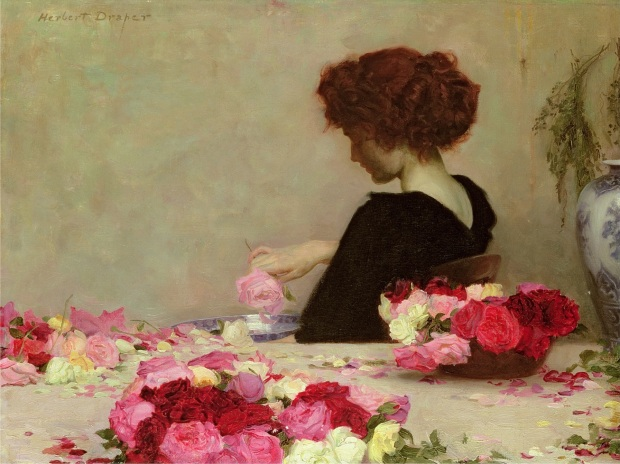 Pot Pourri by Herbert James Draper, 1897.