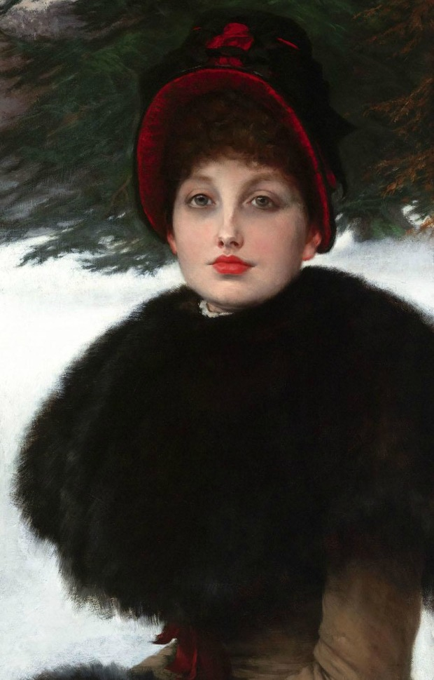A Winter's Walk by James Tissot, 1878.