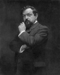 Claude Debussy, 1900.