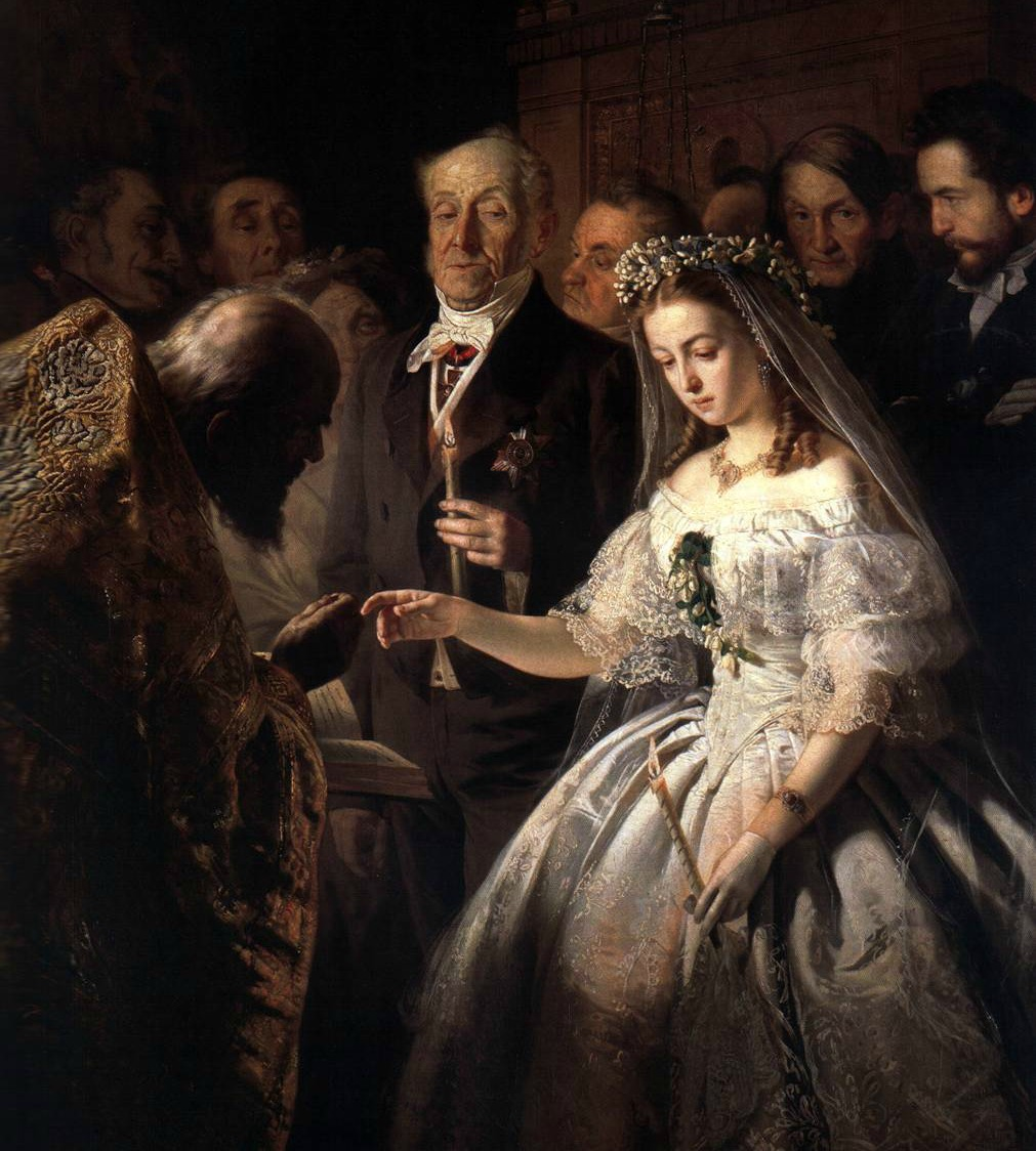the-arranged-marriage-by-vasili-pukirev-