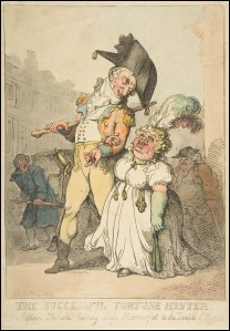 The Successful Fortune Hunter by Thomas Rowlandson, 1802.(Image via Met Museum)