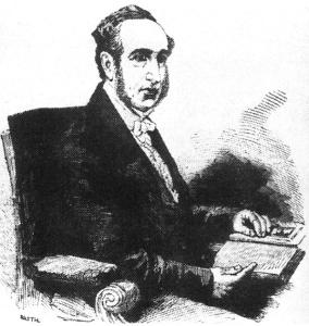 Dr. Isaac Baker Brown, 1851.